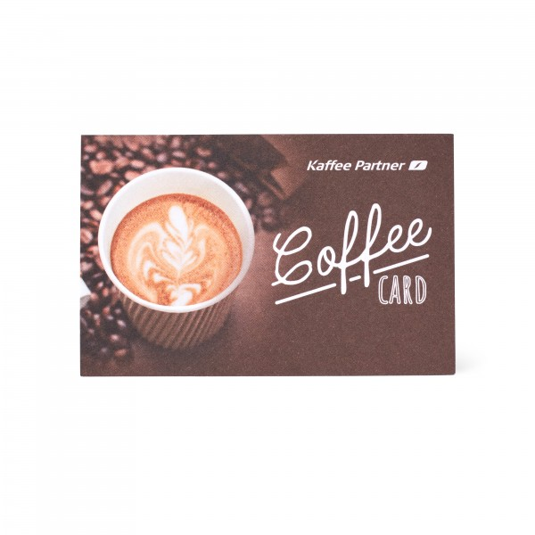 Kaffee Partner Coffee Card
