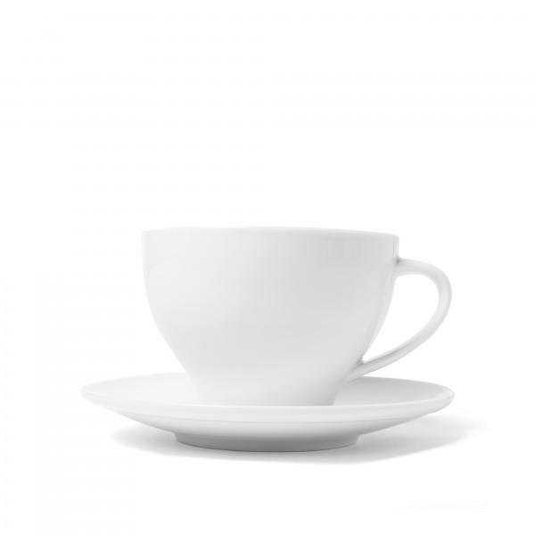 Milchkaffeetasse mit Untertasse