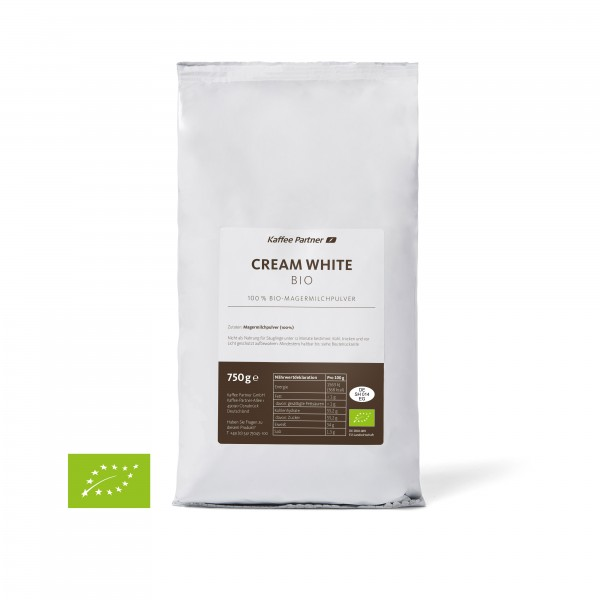 Kaffee Partner Cream White Bio