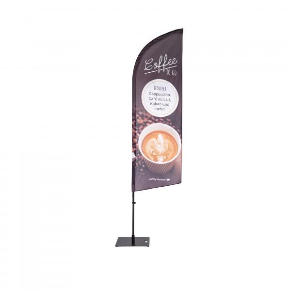 Beachflag von Kaffee Partner - Verkaufsförderung