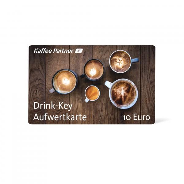 Drink-Key 10 Euro - Aufwertkarte für bargeldloses bezahlen