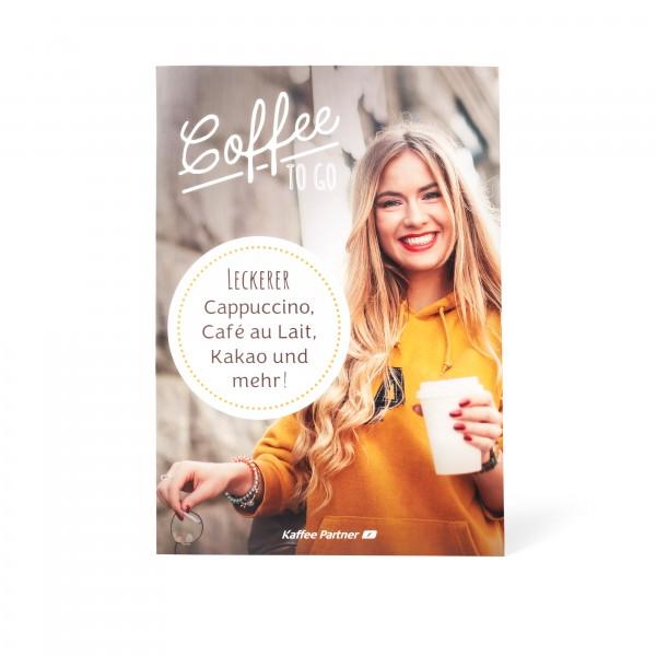 "Kaffee Partner Poster DIN A2 - Motiv ""Person"" frontal"