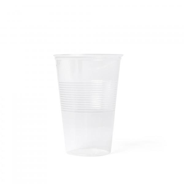 Plastikbecher von welltec für kalte Getränke