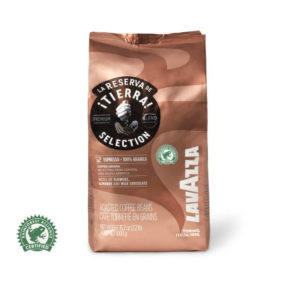 Lavazza La Reserva de Tierra Selection, 100 % Arabica Kaffeebohne