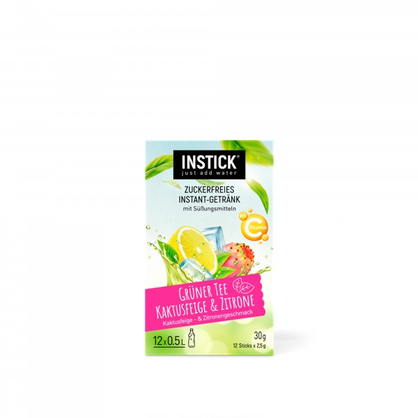 INSTICK Grüner Tee Kaktusfeige & Zitrone
