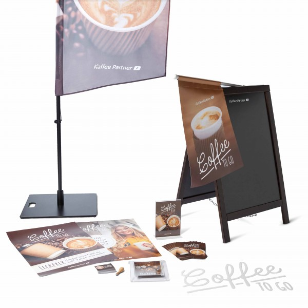 Coffee Promotion Set - To Go Plus mit Kreidetafel