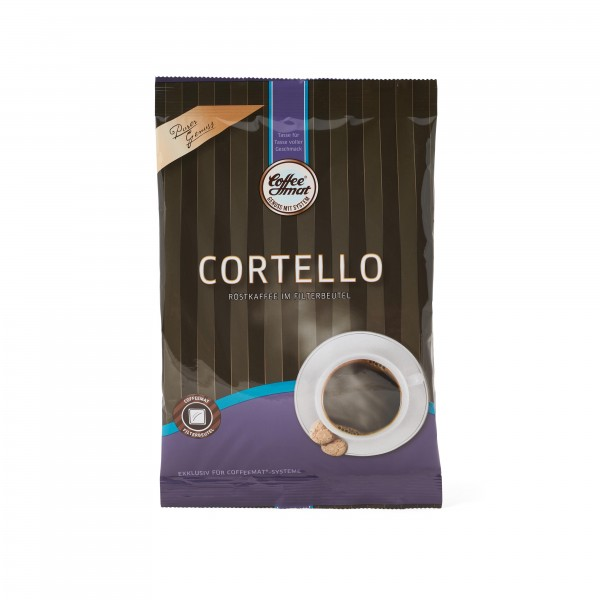 Coffeemat Cortello Röstkaffee im Filterbeutel