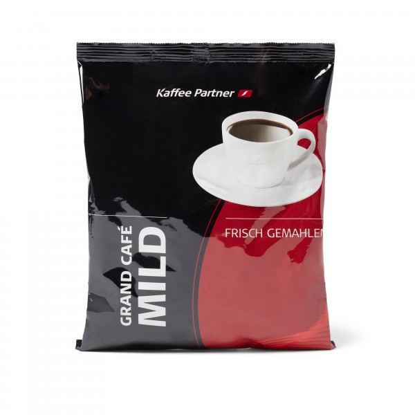 Grand Café Mild - gemahlener Röstkaffee von Kaffee Partner