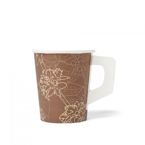 Kaffee Partner Coffe-to-go-Becher mit Henkel
