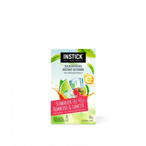 INSTICK Schwarzer Tee Himbeere & Limette