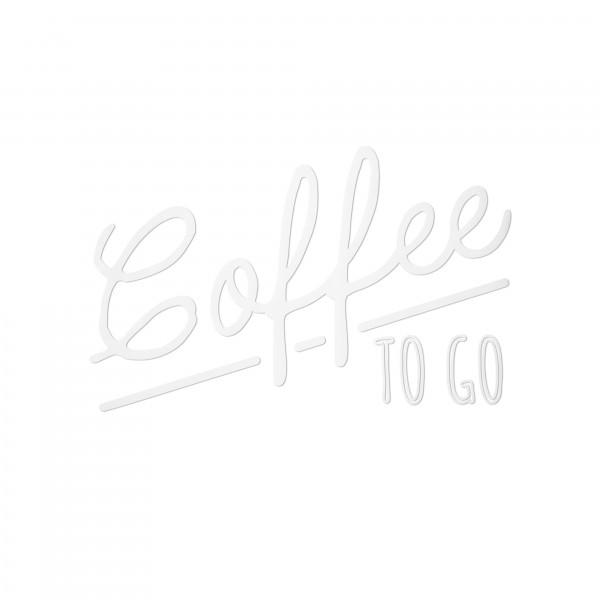 "Fensteraufkleber - Motiv ""Coffee to Go"""