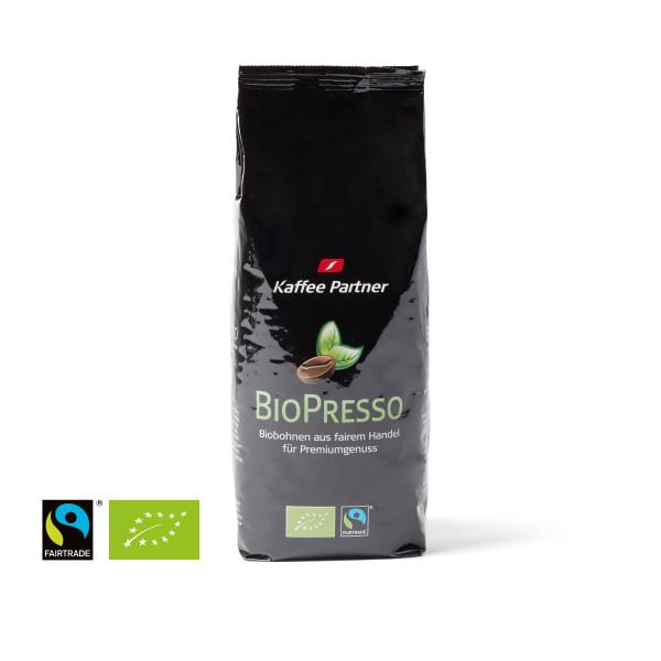 Kaffee Partner BioPresso ganze Bohne