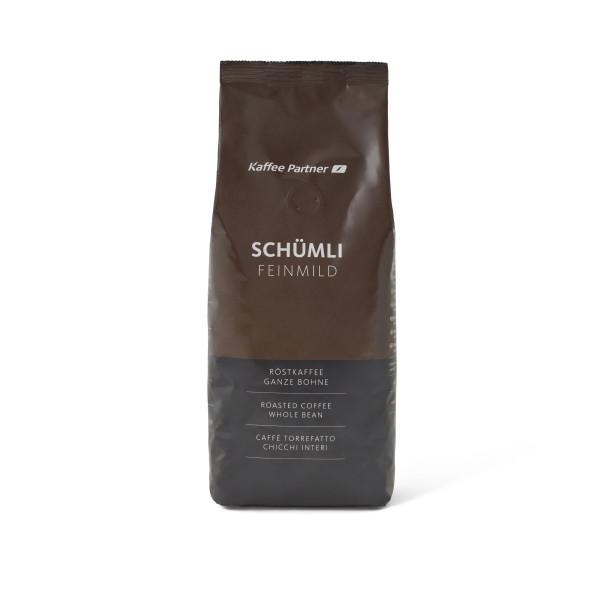 Schümli Feinmild Röstkaffee - Ganze Bohne