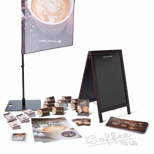 Coffee Promotion Set Gastro Plus mit Kreidetafel​